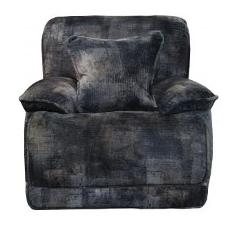 Bolt Lay Flat Recliner in Pewter Fabric by Catnapper - 22807