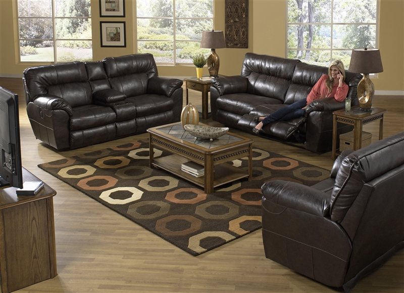 sc 1 st  Home Cinema Center & Nolan Extra Wide Leather Cuddler Recliner by Catnapper - 4040-4 islam-shia.org