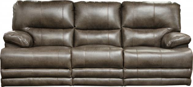 Austin Storage Reclining Sofa in Dusk Leather Like Fabric by ...