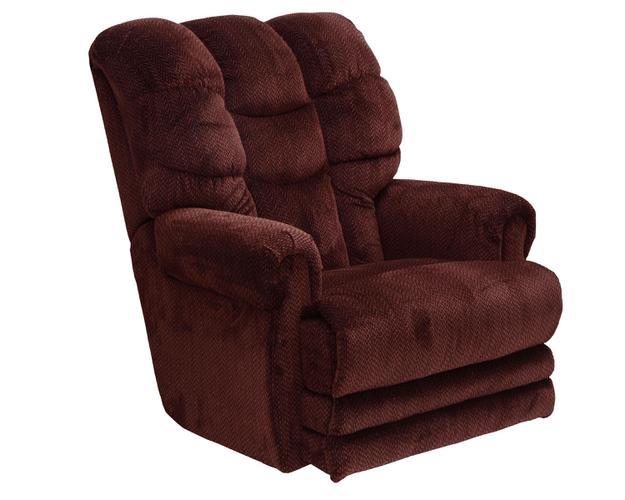 corn hair style malone lay flat recliner in vino chenille by catnapper 4257