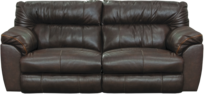 Awe Inspiring Milan Reclining Sofa In Chocolate Leather By Catnapper 4341 Ch Pdpeps Interior Chair Design Pdpepsorg