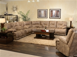 Voyager Lay Flat 3 Piece Sectional by Catnapper - 438