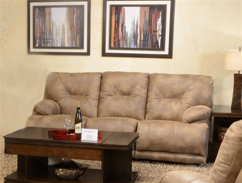 Voyager Lay Flat Reclining Sofa by Catnapper - 4381