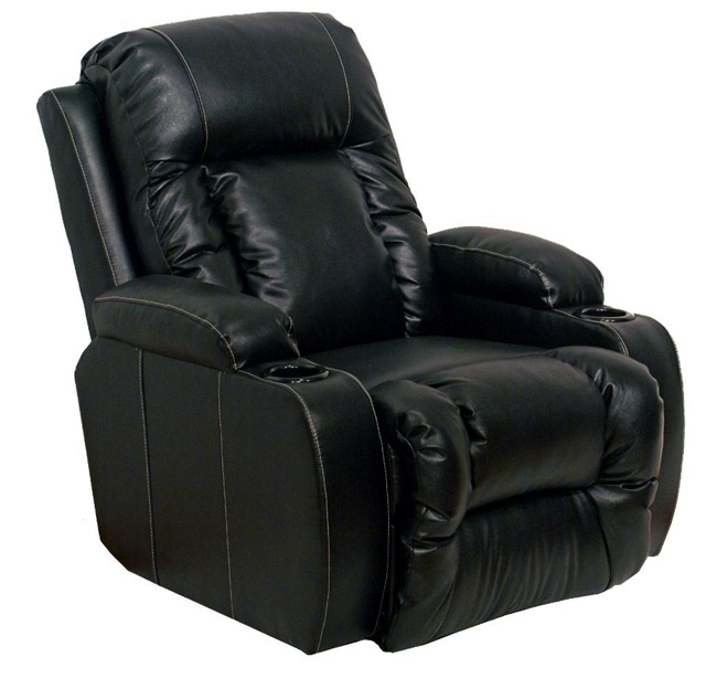 List Price $2099.00  sc 1 st  Home Cinema Center & Geneva Theater Seating - 2 Black Leather Chairs By Catnapper ... islam-shia.org