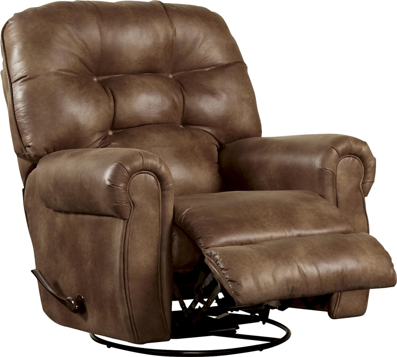 Thompson Swivel Glider Recliner in Coffee Leather Like Fabric by Catnapper - 4534-5-C  sc 1 st  Home Cinema Center & Thompson Swivel Glider Recliner in Coffee Leather Like Fabric by ... islam-shia.org