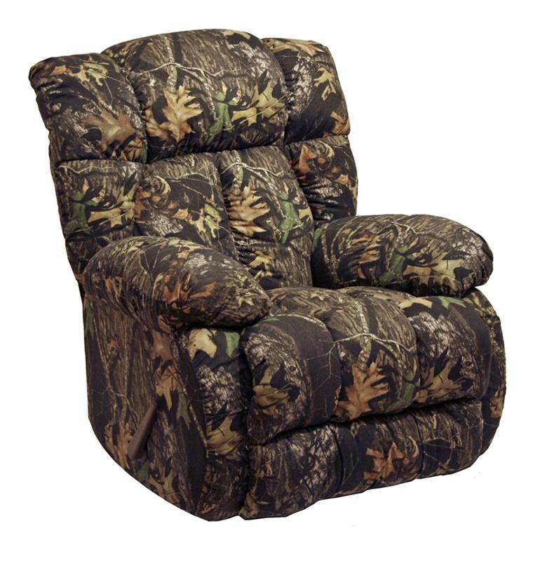 laredo camouflage chaise rocker recliner by catnapper 46092camo