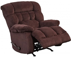 Daly Chaise Rocker Recliner in Cranapple Fabric by Catnapper - 4765-2-CA