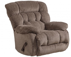 Daly Chaise Swivel Glider Recliner in Chateau Fabric by Catnapper - 4765-5-CT