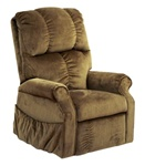 "Somerset ""Pow'r Lift"" Lounger Recliner in Havana Fabric by Catnapper - 4817-H"
