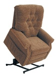 "Patriot ""Pow'r Lift"" Full Lay-Out Recliner in Autumn Chenille by Catnapper - 4824-A"