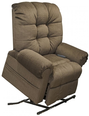 Excellent Omni Power Lift Full Lay Out Chaise Recliner In Truffle Chenille By Catnapper 4827 T Dailytribune Chair Design For Home Dailytribuneorg