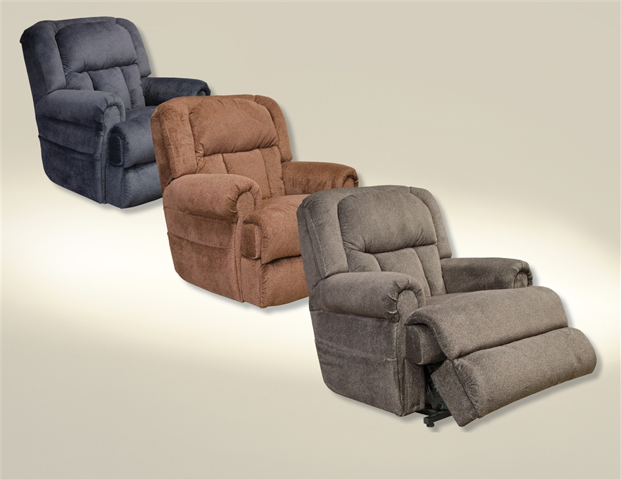 Burns Power Lift Full Lay Flat Recliner With Dual Motor In