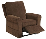 "Edwards ""Pow'r Lift"" Recliner in Coffee Fabric by Catnapper - 4851-C"