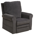 "Edwards ""Pow'r Lift"" Recliner in Indigo Fabric by Catnapper - 4851-I"