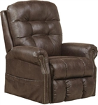 Ramsey Power Lift Lay Flat Recliner with Heat & Massage in Sable Fabric by Catnapper - 4857-SB