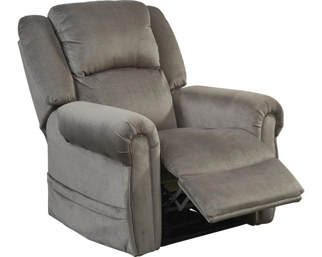 Excellent Spencer Power Headrest Power Lift Lay Flat Recliner In Pewter Fabric By Catnapper 4859 P Bralicious Painted Fabric Chair Ideas Braliciousco