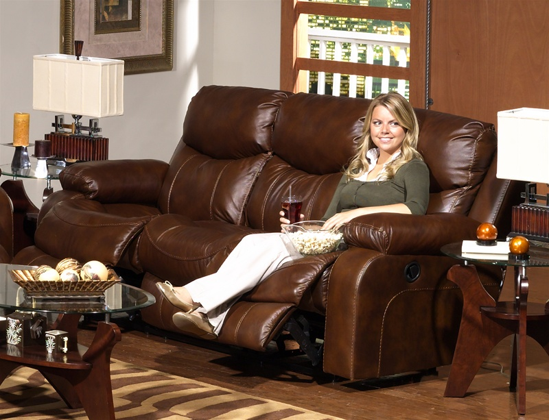 Fantastic Dallas Reclining Sofa In Tobacco Leather By Catnapper 4951 Ocoug Best Dining Table And Chair Ideas Images Ocougorg