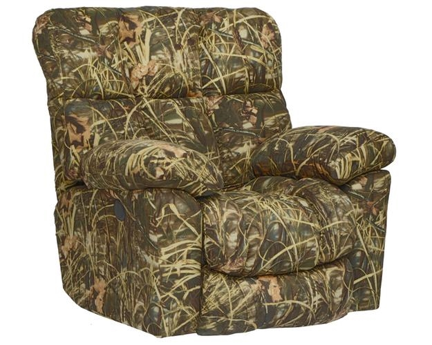 Duck Dynasty Chimney Rock Lay Flat Recliner In Realtree