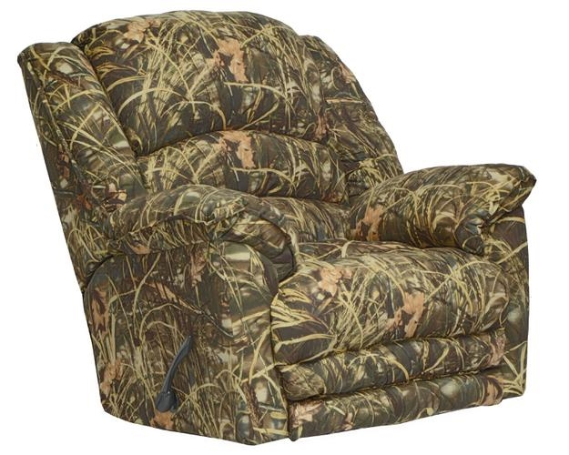 Duck Dynasty Yosemite Chaise Rocker Recliner with Heat and Massage