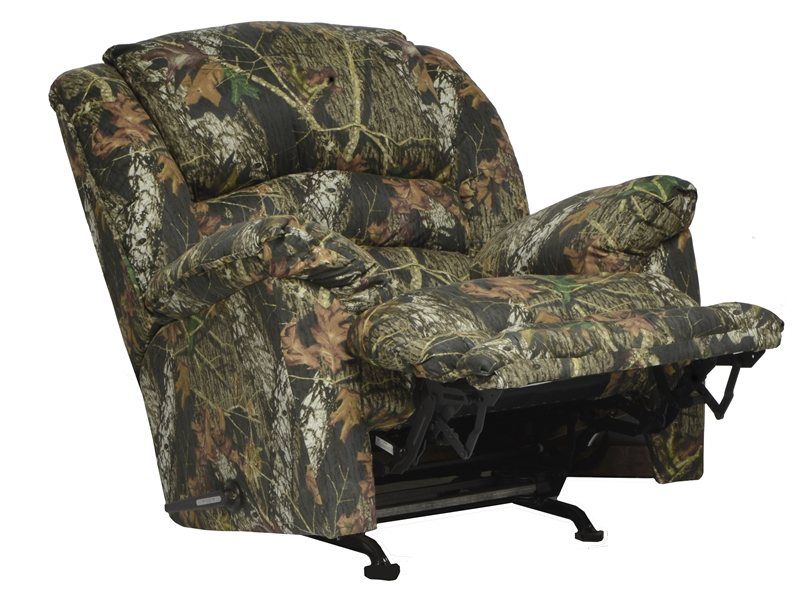 Duck Dynasty Yosemite Chaise Rocker Recliner With Heat And