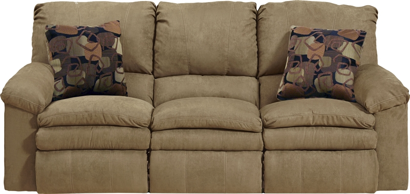 Impulse Power Reclining Sofa In Cafe Color Fabric By