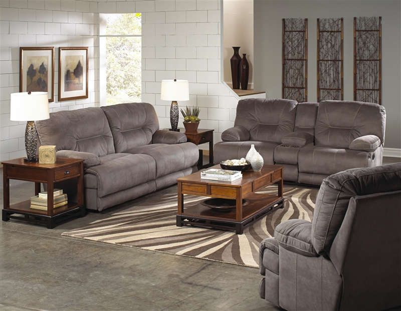 Noble POWER Lay Flat Reclining Sofa in Slate Fabric by Catnapper - 61361-S & Noble POWER Lay Flat Reclining Sofa in Slate Fabric by Catnapper ... islam-shia.org