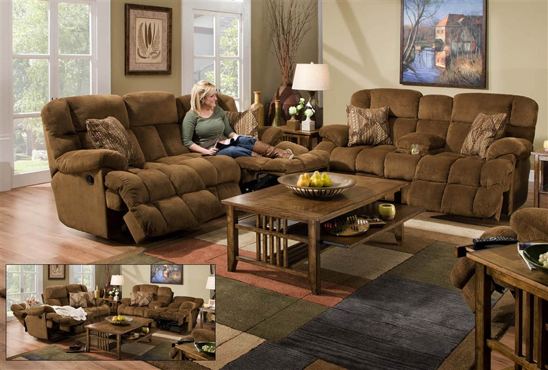 Superb Concord 2 Piece Power Lay Flat Reclining Sofa Set In Pecan Color Fabric By Catnapper 1421 S Ocoug Best Dining Table And Chair Ideas Images Ocougorg