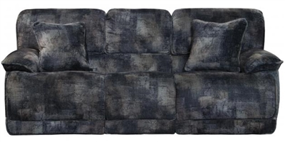 Bolt Power Reclining Sofa in Pewter Fabric by Catnapper - 62281