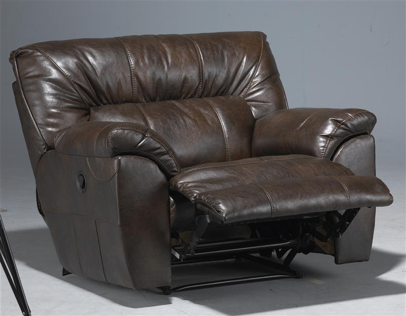& Nolan Leather POWER Extra Wide Cuddler Recliner by Catnapper - 64040-4 islam-shia.org