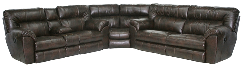 Nolan 3 Piece Leather Power Reclining Sectional by Catnapper - 64041-SEC & Nolan 3 Piece Leather Power Reclining Sectional by Catnapper ... islam-shia.org