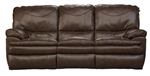 Perez Leather Power Reclining Sofa by Catnapper - 64141