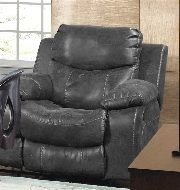 & Catalina Leather POWER Glider Recliner by Catnapper - 64310-6 islam-shia.org