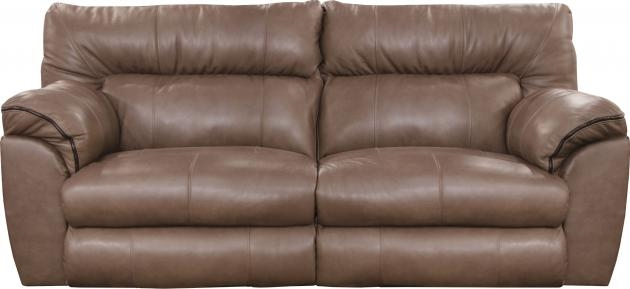 Outstanding Milan Power Reclining Sofa In Smoke Leather By Catnapper 64341 S Pdpeps Interior Chair Design Pdpepsorg