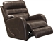 Searcy POWER Wall Hugger Recliner in Coffee Leather Like Fabric by Catnapper - 64747-4-C