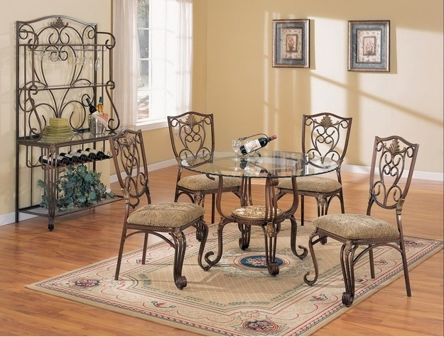 6 piece dining set by crown mark 1146 6 larger photo email a friend sxxofo