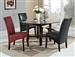 Alexa 5 Piece Dining Set in Espresso Finish by Crown Mark - 1212