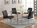 Crystal 5 Piece Dining Set by Crown Mark - 1240-BK