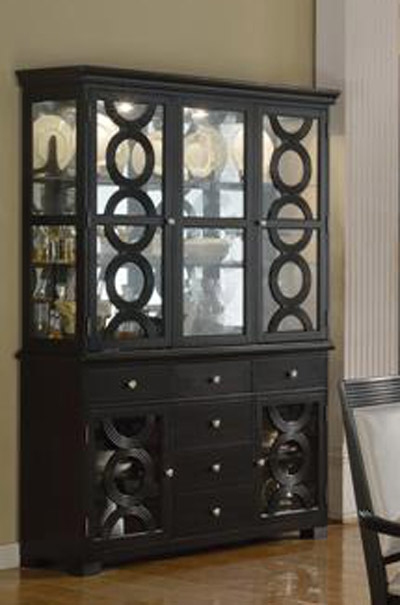Serendipity Buffet And Hutch In Extra Dark Espresso Finish By Crown Mark 2031bh
