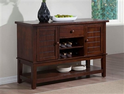 Bardstown Server in Walnut Finish by Crown Mark - 2152-SER