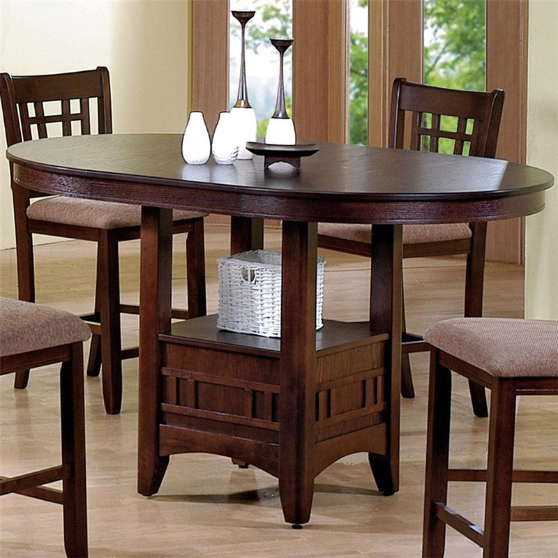 Bar Table Chairs Set Crown Mark Alyssa 3 Piece Bar Table: Empire 5 Piece Counter Height Dining Set In Espresso