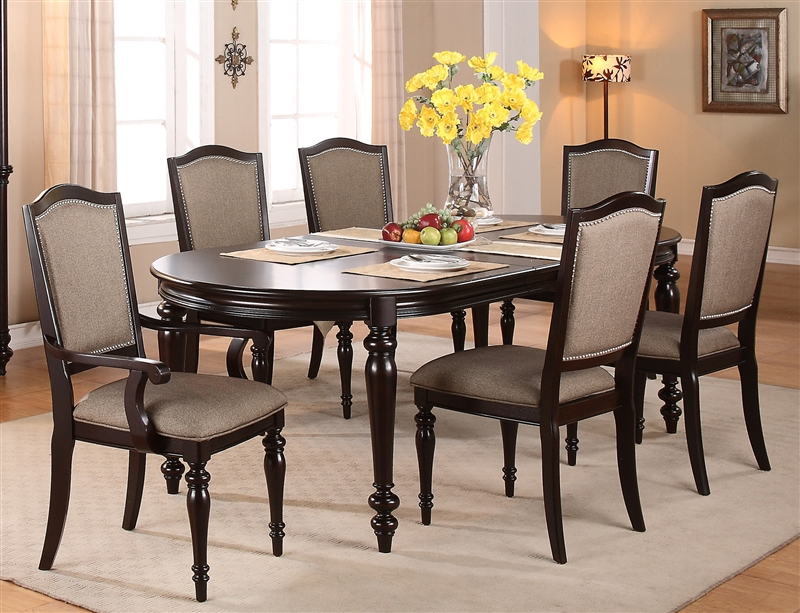 Foley Complete Dining Set China Included in Espresso Finish by ...