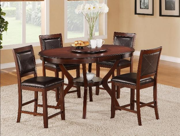Brownstown 5 Piece Counter Height Dining Set In Espresso Finish By Crown  Mark   2717 · Larger Photo Email A Friend