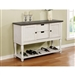 Clover Sideboard in Two-tone Finish by Crown Mark - CM-2765-SB