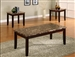 Ferrara 3 Piece Occasional Table Set in Espresso Finish by Crown Mark - 4221