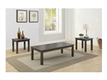 Jason 3 Piece Occasional Table Set in Grey Finish by Crown Mark - CM-4223