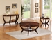 Brownstown 3 Piece Occasional Table Set in Espresso Finish by Crown Mark - 4517