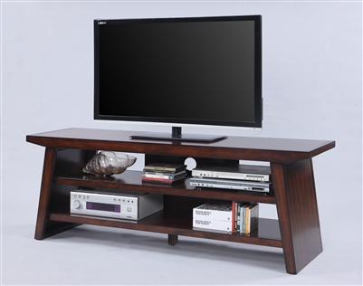 "Dante 65"" TV Console in Brown Finish by Crown Mark - CM-4729"
