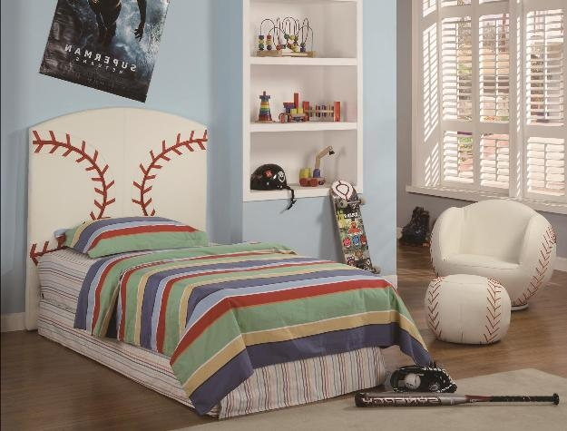Baseball 3 Piece Youth Bedroom Set By Crown Mark