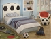 Soccer 3 Piece Youth Bedroom Set by Crown Mark - 5004