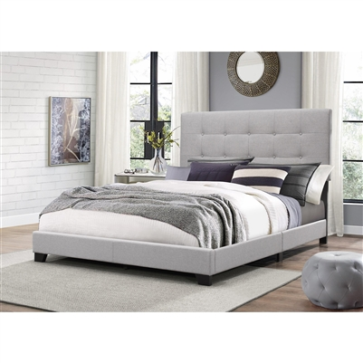 Florence Bed in Gray Finish by Crown Mark - CM-5270GY-Bed